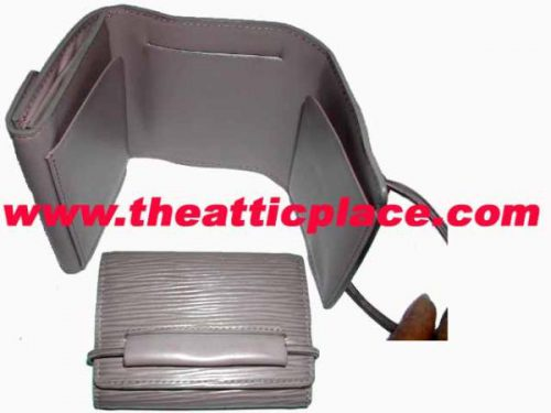 Louis Vuitton M 63662 Epi Lilac Small Wallet-0