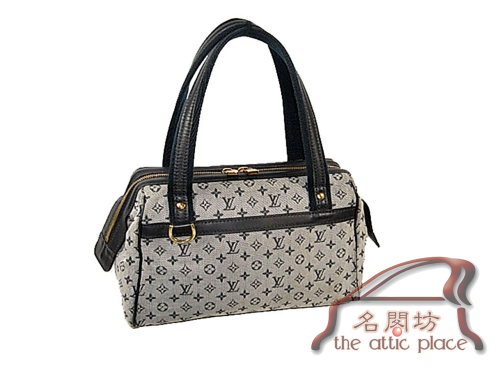 85% NEW ! Louis Vuitton Mini Monogram Canvas M92214 Josephine PM with Strap-0