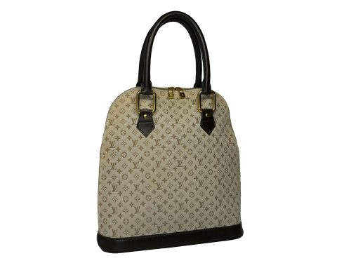 Louis Vuitton M92203 Monogram Mini Alma Huat Document Tote Bag-0