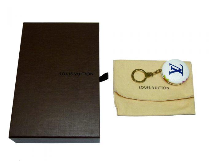 Louis Vuitton M51911 Monogram Multicolor Blanc Astropill Key Ring-0