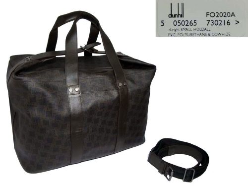 Dunhill FO2020A D-Eight Small Holdall Travel Luggage -0