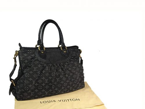 Louis Vuitton M95351 Denim Black Neo Cabby MM-0