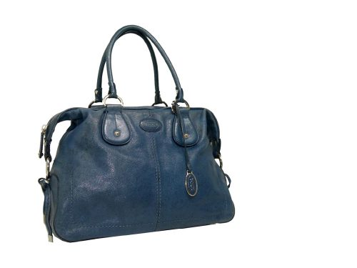 Tods Coral Blue Boston Large-0
