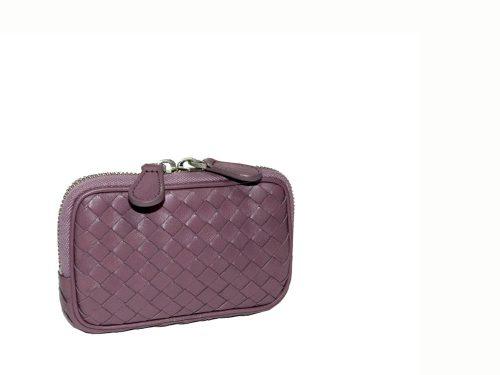 Bottega Veneta 218193 Lilac Zipped Iphone / Card/ Coin Holder-0