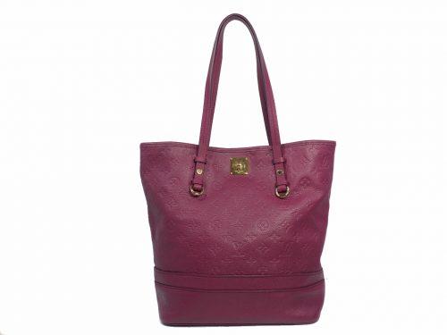 Louis Vuitton M94049 Cherry Aurore Monogram Empreinte Citadine PM Bucket Shopping/ Document Bag-0