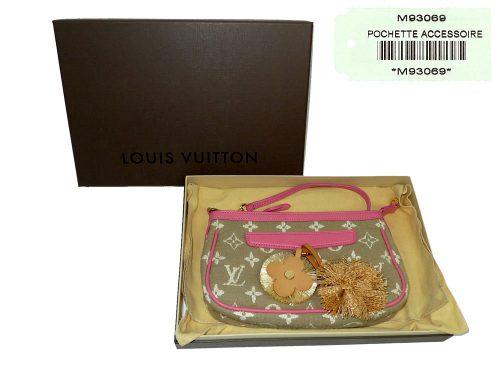 Louis Vuitton M93069 Cruise 2011 Monogram Sabbia Pochette Accessoires Rose Evening /Clutch Bags-0