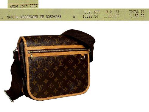 Louis Vuitton M40106 Bosphore PM Messenger -0