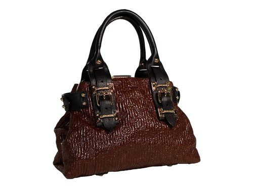 Louis Vuitton Limited Embossed Leather w Clapse Tote-0