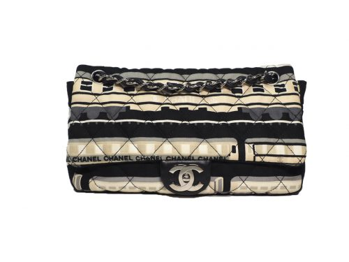 Chanel 11023789 Coco CC Central Station Cruise Collection Medium Flap SHW-0