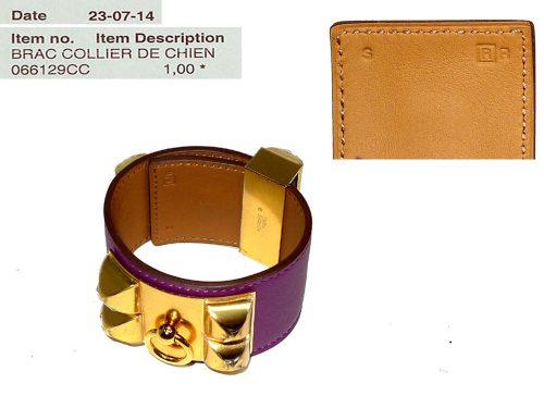 Hermes CDC Anemone Veau Chamonix Gold HW R Stamp S Size-0