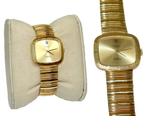 Rolex 4082 S/No: 4075492 Gold Winding 18K Lady Watch-0
