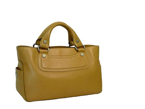 Celine Camel Calf Leather Boogie Tote-0