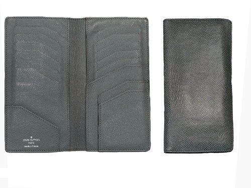 Louis Vuitton M32607 Taiga Grey 12 Cards Long Wallet-0