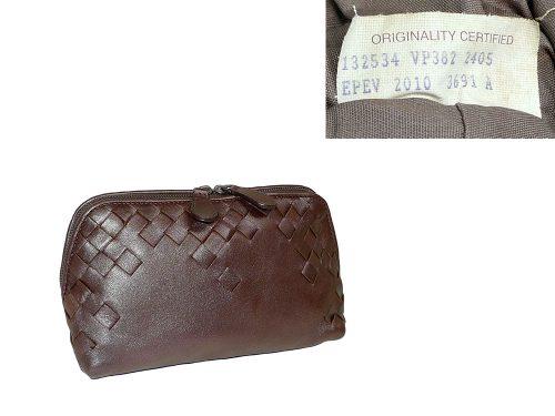 Bottega Veneta 132534 Copper Cosmetic Case -0