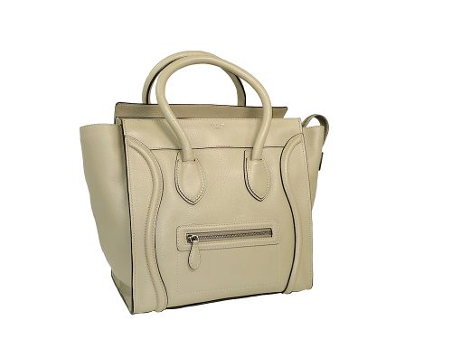 Celine 165213 Sand Mini Luggage Document Tote-0