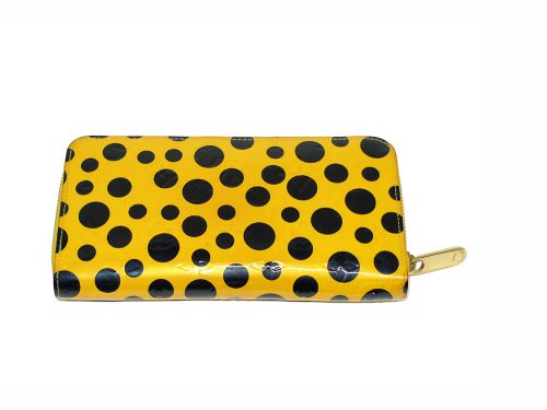 Louis Vuitton Dots Infinity M91571 Vernis Yayoi Kusama Zippy Long Wallet-0