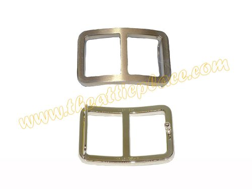 Hermes 32mm Permabrass Unisex Domino Buckle with Optional 80cm, 85cm ,90cm and 95cm reversible Belt Size -0