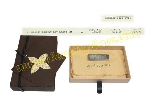Louis Vuitton M65061 Pin Money Clip-0