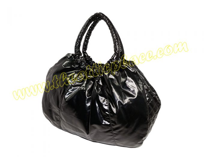 Chanel 16328887 Black A65543Y Nylon Hobo Large Shopping-35818