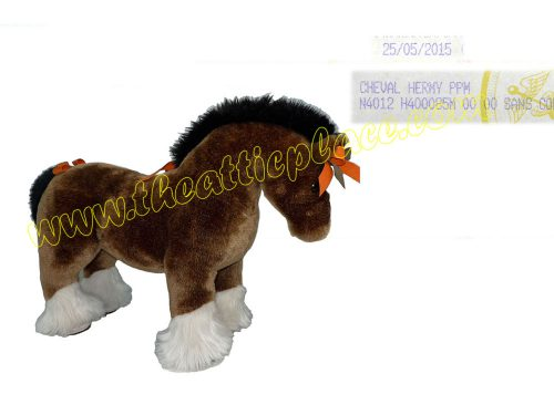 Hermes Hermy PPM Acrylic Polyes The Horse Plush Toy for Display/ Baby Gifts-0