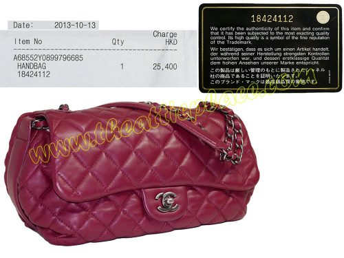Chanel 18424112 Red Lambskin Flap w Gather Ruthenium Hardware-0