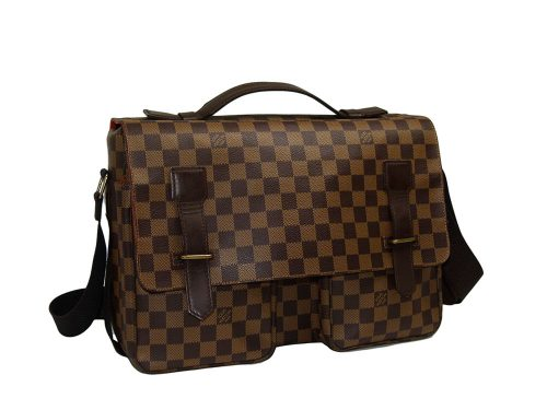 Louis Vuitton Damier Canvas N42270 Broadway Messenger Lugguage Bag-0
