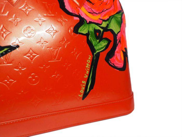 Louis Vuitton Monogram Vernis Roses Alma GM in Rose Pop (MI0069)-38404