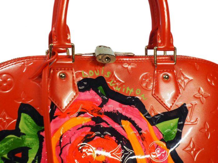 Louis Vuitton Monogram Vernis Roses Alma GM in Rose Pop (MI0069)-38403