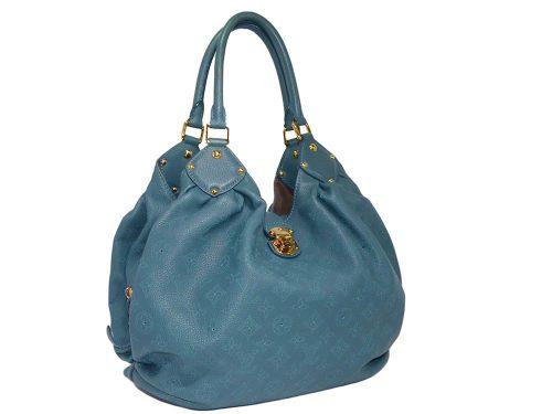 Louis Vuitton M99075 Lagon Monogram Mahina L Hobo Bag-0