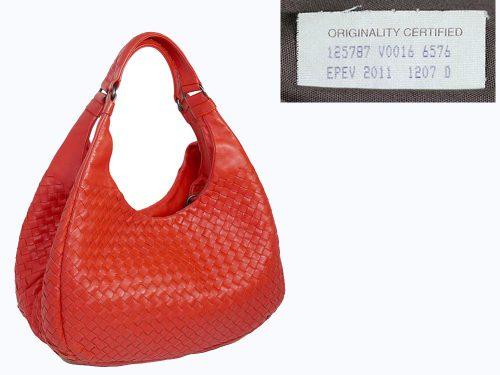 Bottega Veneta 125787 Timeless Intrecciato Campana Medium Hobo Bag-0