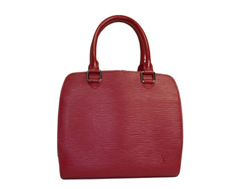Louis Vuitton M52052 Epi Red Leather Pont Neuf Tote Bag-0