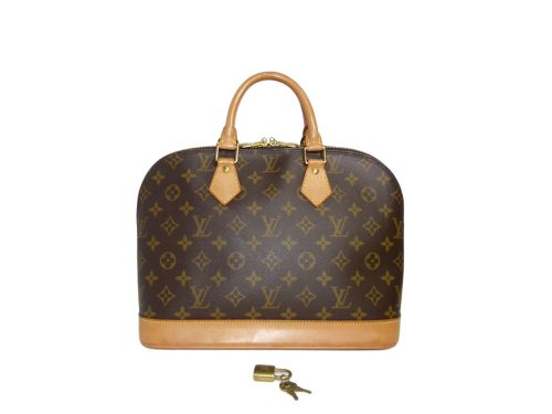 Louis Vuitton M51130 Monogram Canvas Alma Tote-0