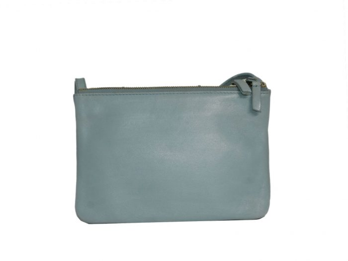 Celine Baby Blue ( Gacier) Trio Bag Small Messenger Bag -34592