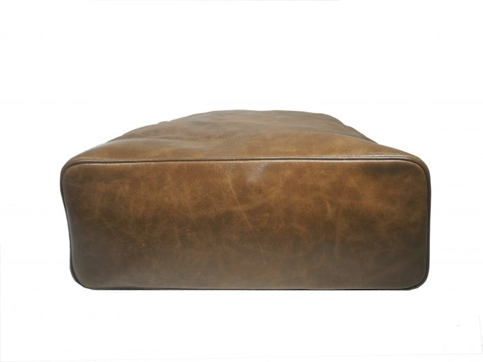 Celine Brown Aged Glazed Boston Large Tote-35132