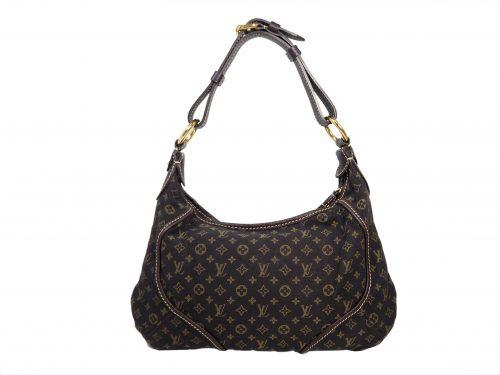 Louis Vuitton M95621 Mini Lin Canvas Manon PM Hobo Bag (SP4068)-0