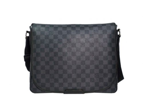 Louis Vuitton N58029 Damier Graphite Canvas Daniel MM Messenger Bag-0