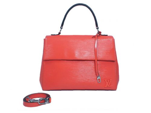 Louis Vuitton M41581 Poppy / Salmon Petal Epi Leather Cluny MM (CA0116)-0
