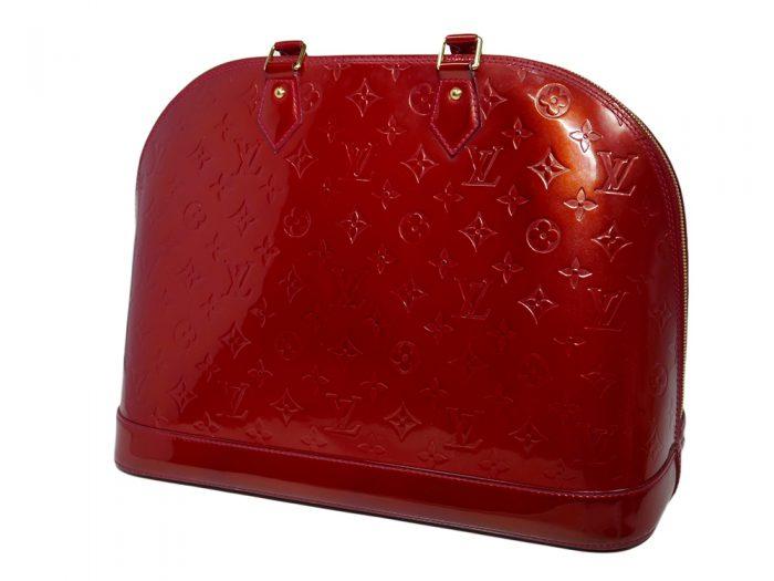 Louis Vuitton M93596 Pomme D'Amour Monogram Vernis Alma MM-38378