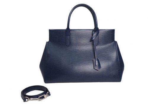 Louis Vuitton M94615 Epi Leather Indigo Marly MM (FL3174)-0