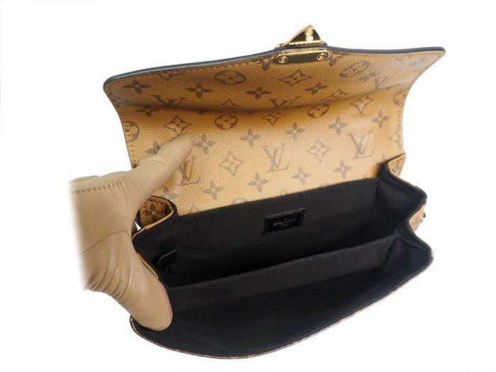 Louis Vuitton M44876 Monogram Reverse Canvas Pochette Metis Messenger Bag-38835