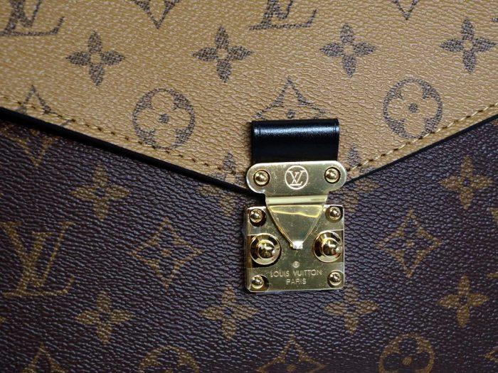 Louis Vuitton M44876 Monogram Reverse Canvas Pochette Metis Messenger Bag-38831
