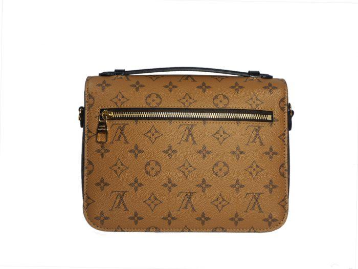 Louis Vuitton M44876 Monogram Reverse Canvas Pochette Metis Messenger Bag-38833
