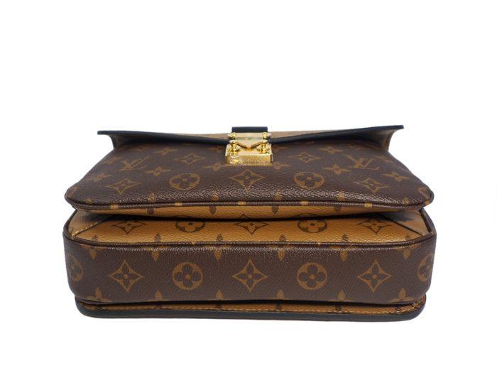Louis Vuitton M44876 Monogram Reverse Canvas Pochette Metis Messenger Bag-38830