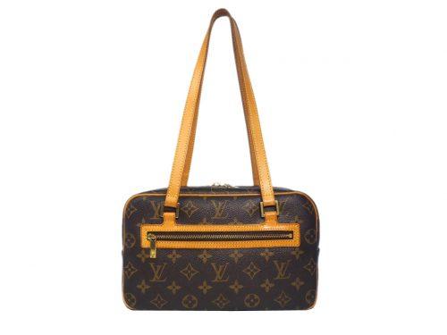 Louis Vuitton M51182 Monogram Canvas Cite MM Bowling Shoulder Bag (TH0032)-0