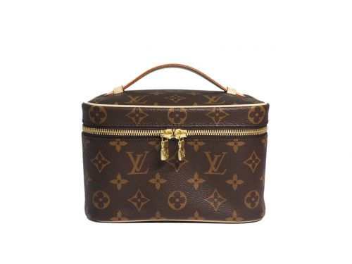 Louis Vuitton Monogram Canvas M44495 Nice Mini Beauty Case -0