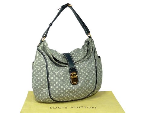 Louis Vuitton M56700 Monogram Idylle Blue/ Grey/ Encre Romance Hobo Shoulder bag-0
