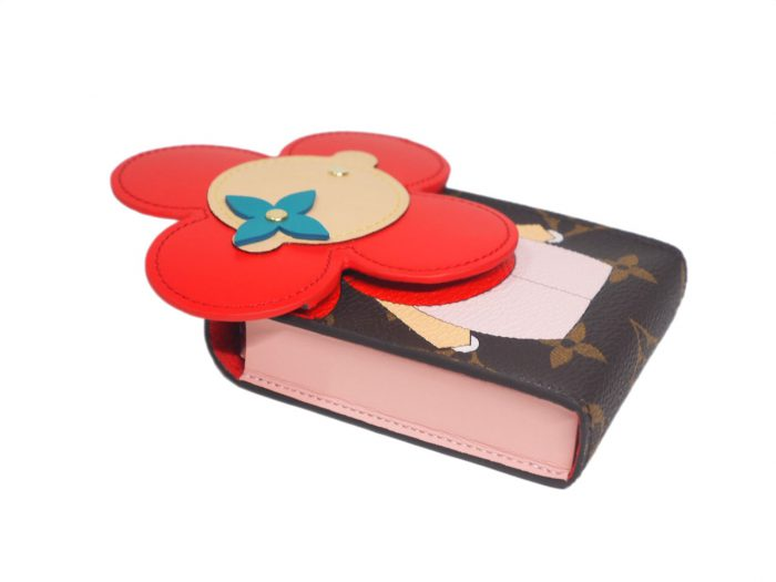 Louis Vuitton GI0446 Monogram canvas/ Monogram Flower Vivienne playing cards and pouch -39271