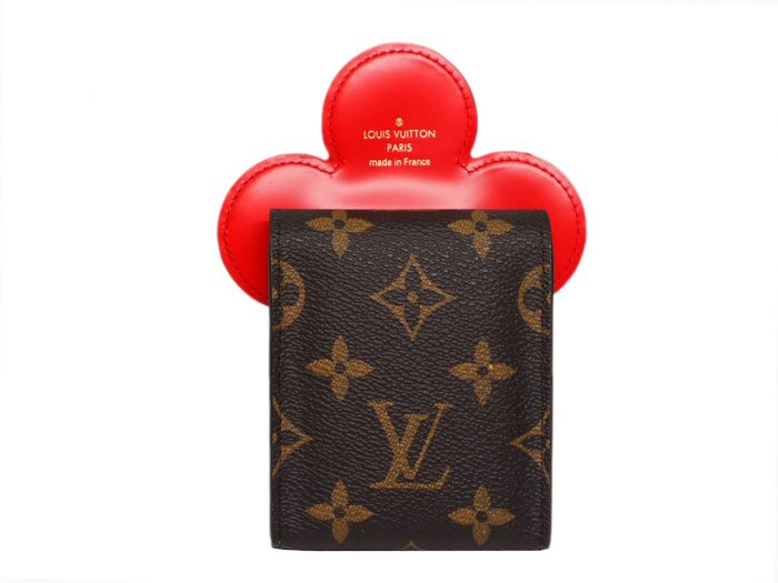 Louis Vuitton GI0446 Monogram canvas/ Monogram Flower Vivienne playing cards and pouch -39269