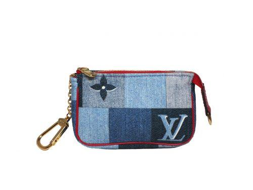 Louis Vuitton M68760 Monogram Denim Micro Pochette Accessoires -0