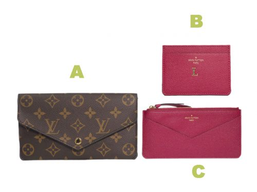 Louis Vuitton M62155 Jeanne Wallet Monogram Canvas (CA4107)-0